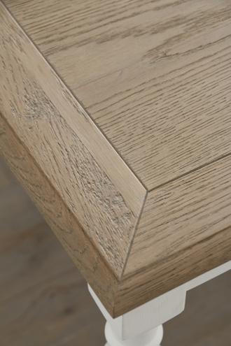 SGDダイニングテーブルアン145cmホワイトTopナチュラルCn