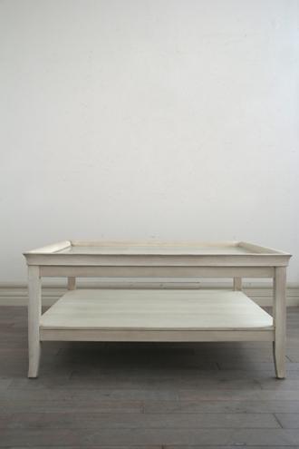 【配送地域限定】Mis En Demeure コーヒーテーブル ROUSSILLON 100cmx100cm