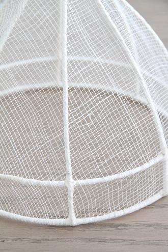 Fiorira un Giardinoフードカバー ホワイトS