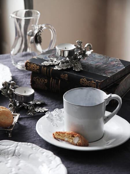 CarronリボンソーサーMarie Antoinette