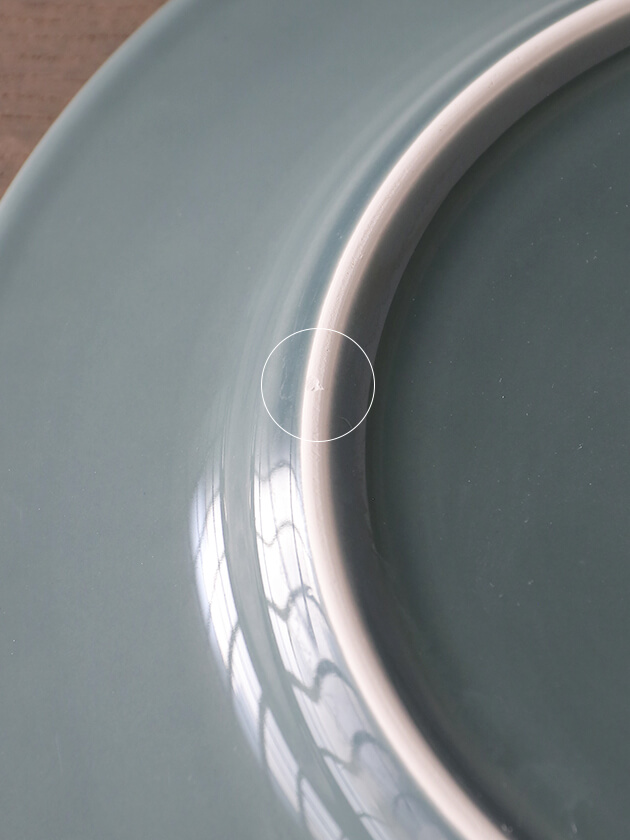 PotteryJoディナープレートDAISYダスティグリーン29cm
