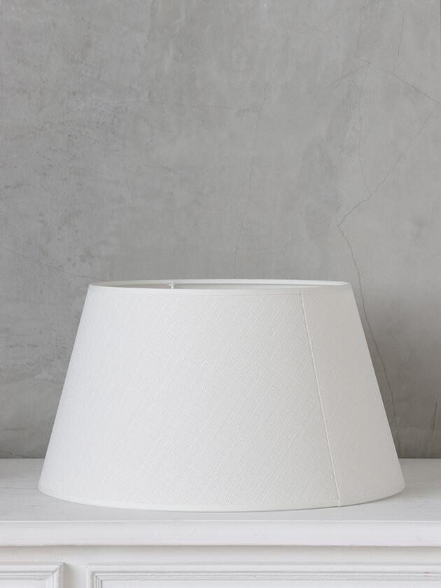 BLANC D'IVOIREシェードConicalオフホワイト35cm