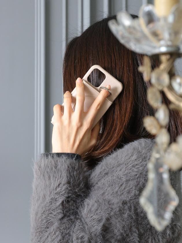 iPhone12/12Proケースensemble PORTE