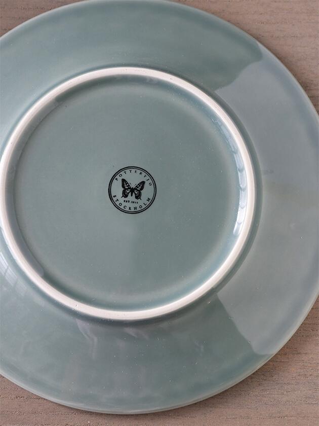 PotteryJoデザートプレートDAISYダスティグリーン22cm