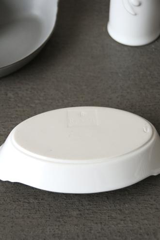 REVOLオーバルディッシュホワイト20cm