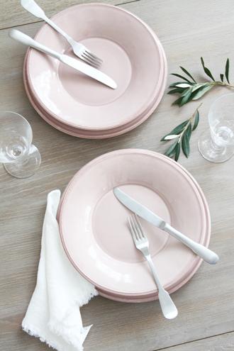 Cote Table Constance ピンクスーププレート26.5cm