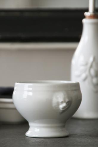 REVOLライオンヘッドスープボウルホワイト S