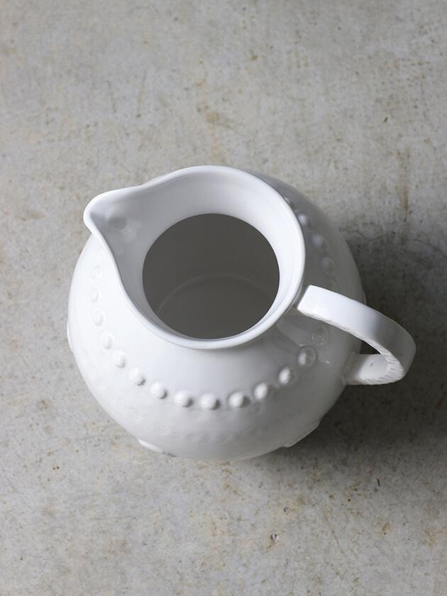 PotteryJoラージピッチャーDAISYホワイト