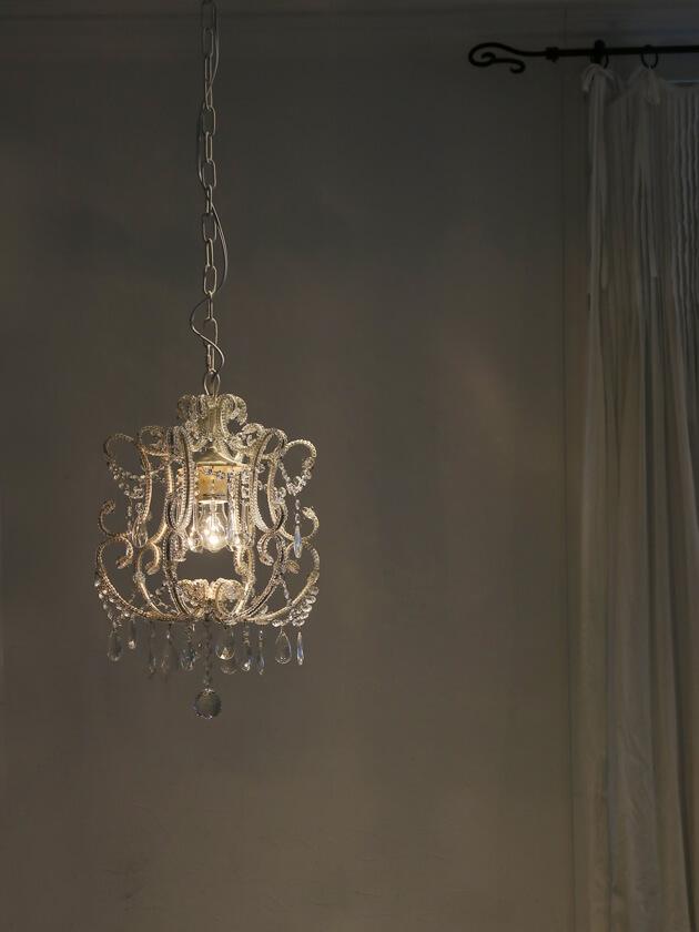 SGDシャンデリア1灯Juliaホワイト