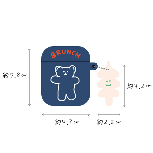 AirPods ケース 韓国 * brunch brother