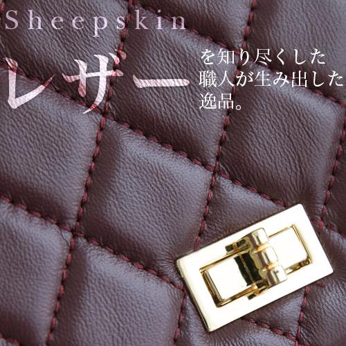羊革 2way ミニバッグ * 4color