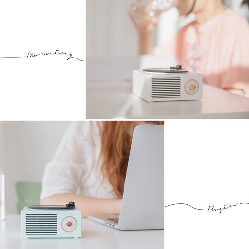 Bluetooth スピーカー レコード
