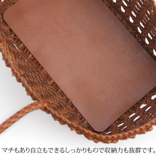 本革かごバッグ * 3color