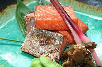 越後のお惣菜 紅鮭塩焼き