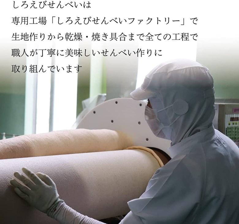 しろえびせんべい中箱[2枚×48袋] 富山の白えびとお米 薄焼き 塩味 個包装 ギフト 御歳暮 帰省暮
