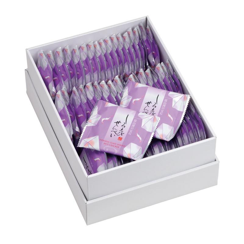 しろえびせんべい 中箱 2枚×48袋
