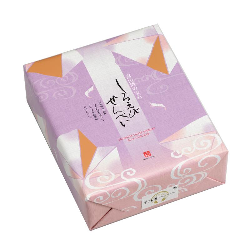 しろえびせんべい 小箱 2枚×24袋