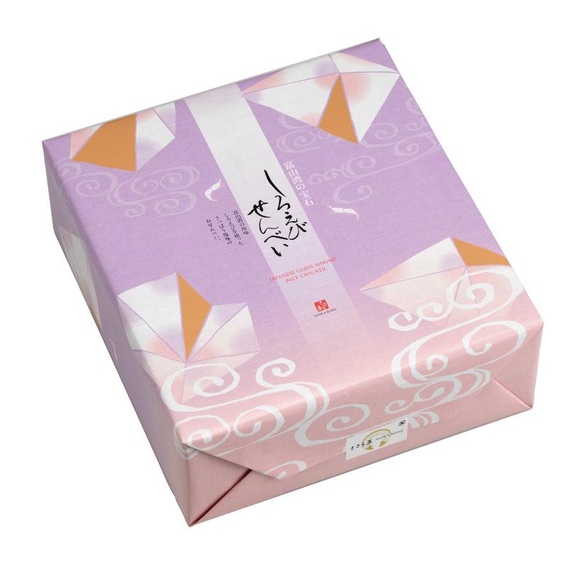 【送料無料】しろえびせんべい 大箱 2枚×72袋