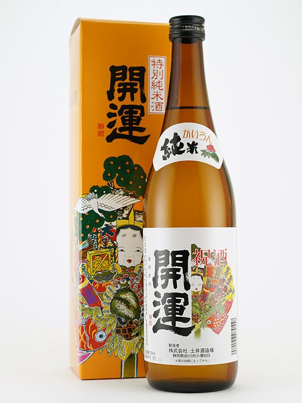 開運 特別純米酒 720ml