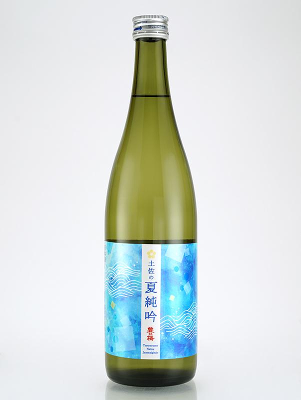 豊能梅 純米吟醸 土佐の夏純吟 720ml