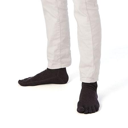 メンズ5本指靴下