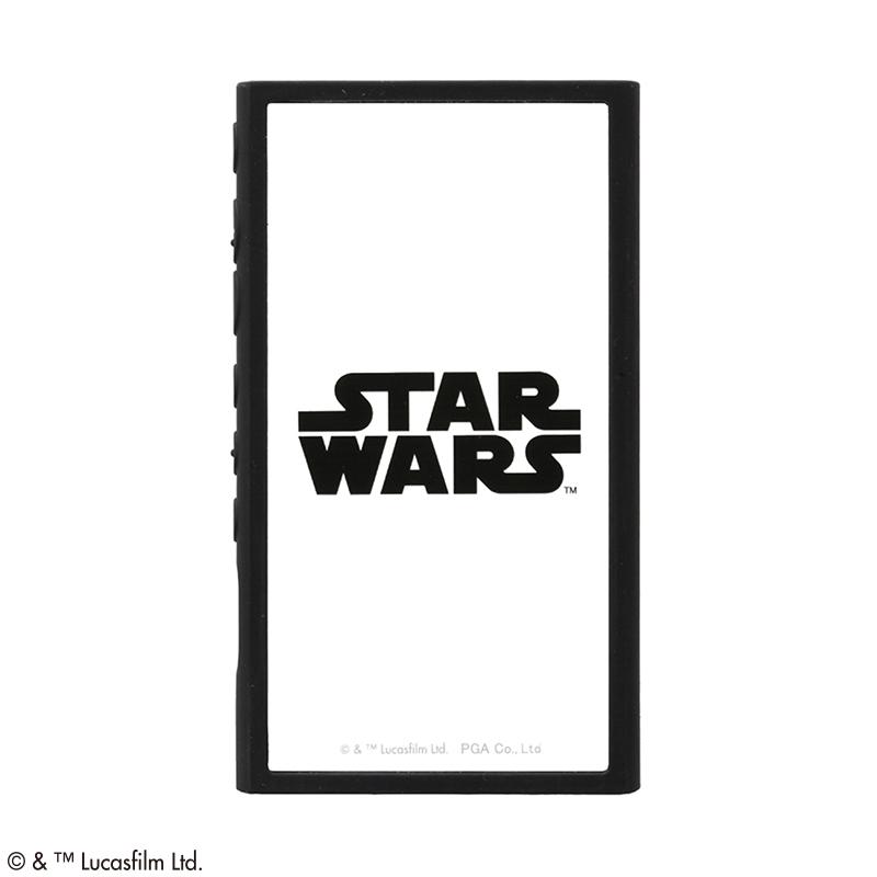 STAR WARS/WALKMAN NW-A100用 ガラスタフケース [ロゴ/ブラック]