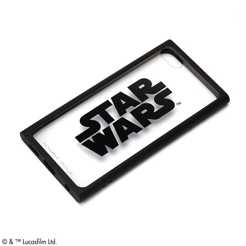 STAR WARS/iPod touch用(第7/6/5世代)用ガラスタフケース [ロゴ/ブラック]