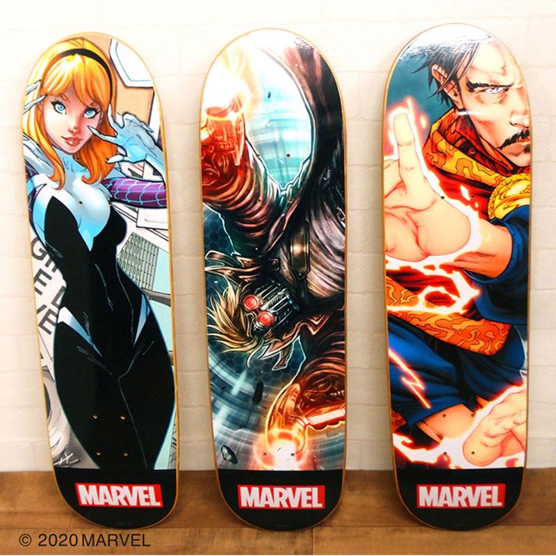 MARVEL/スケートボード/スパイダーグウェン