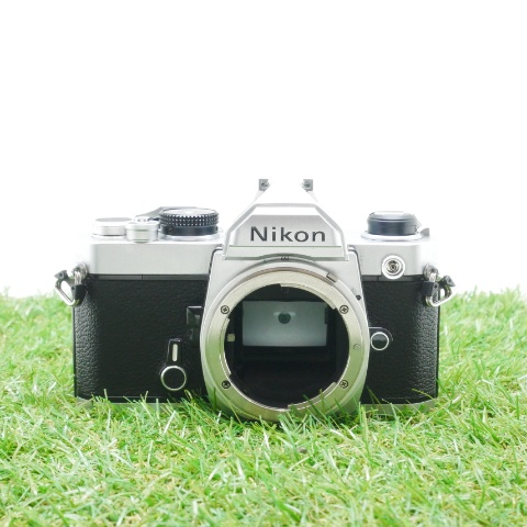中古品 Nikon FM シルバーボディ