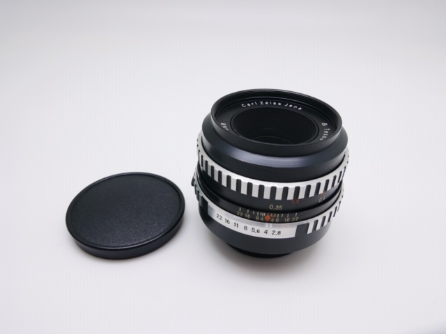 中古品 Carl Zeiss Jena Zebra Tessar 50mm F2.8