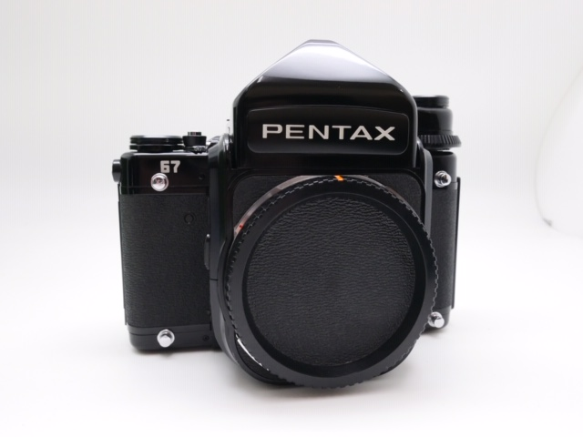 中古品 PENTAX67ボディ