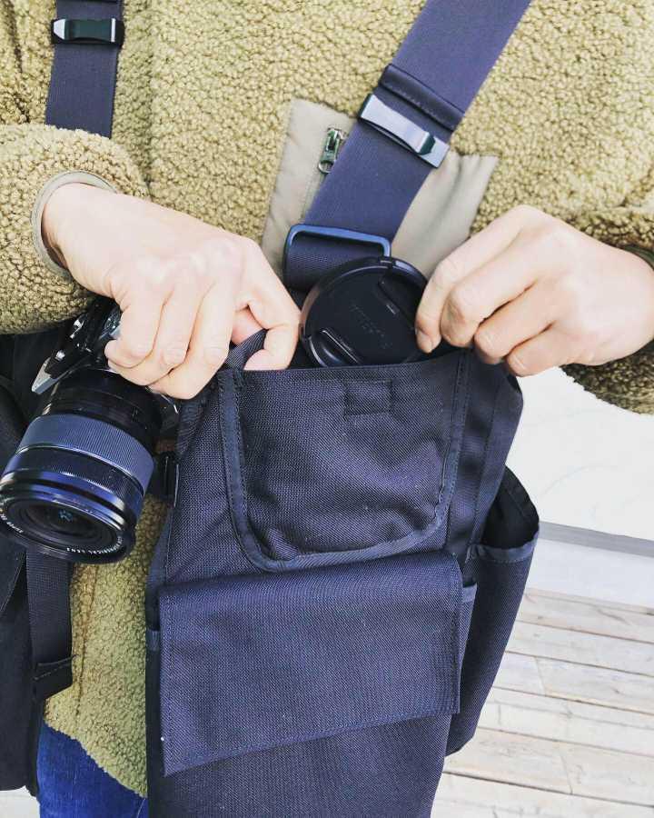 【初売り!世界初のカメラマンベスト】JAPATAKE(ジャパテイク) TAKE ON MEモデル
