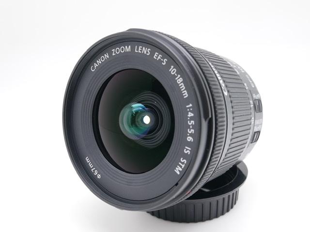 中古品 Canon EFS 10‐18mmF4.5-5.6 IS STM