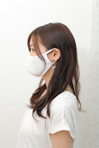 栃木県産!夏用冷感布マスク(2枚入り) L,Mの2サイズ【数量限定】