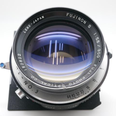 中古品 FUJINON S 300mm F5.6 COPAL・No3
