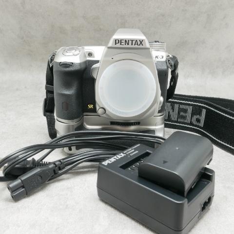 中古品 PENTAX K-3 シルバーボディ