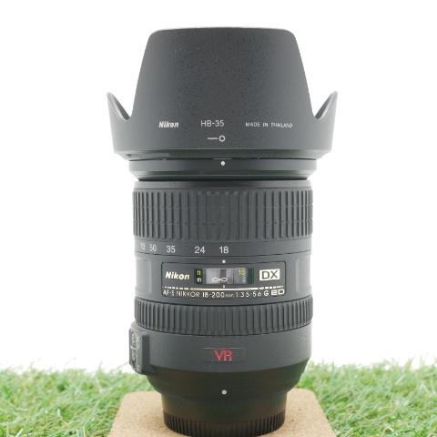 中古品 Nikon AF-S DX 18-200mm F3.5-5.6G ED VR