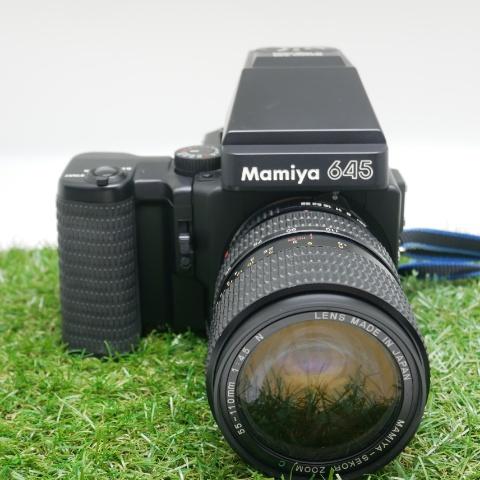 中古品 Mamiya M645 SUPER 【レンズおまけ】