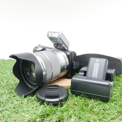 中古品 SONY αNEX-5N ブラック 標準レンズキット