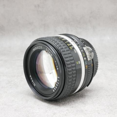 中古品 Nikon Ai-S NIKKOR 50mm F1.4