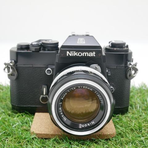 中古品 Nikomat EL +  NIKKOR-S AUTO 50mm F1.4