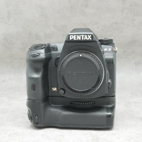 中古品 PENTAX K-3 グリップつき ボディ