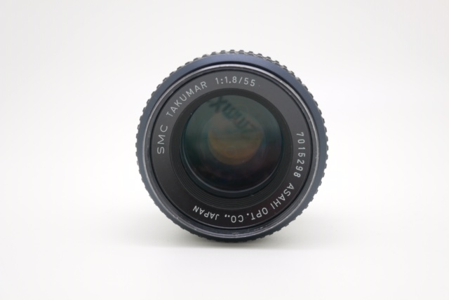 中古品 SMC TAKUMAR 55mm F1.8 予約商品になります