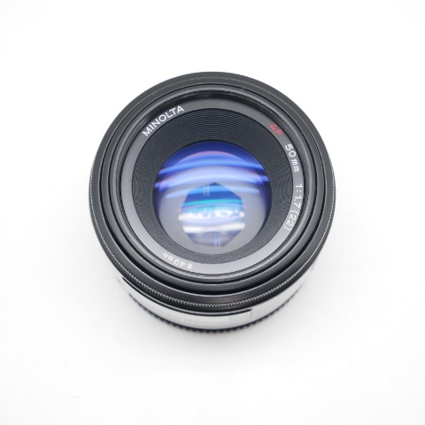 中古品 MINOLTA AF 50mm F1.7