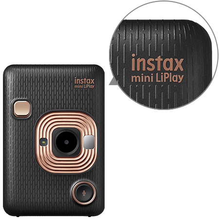 FUJIFILM(フジフイルム) ハイブリッド インスタントカメラ instax mini LiPlay エレガントブラック