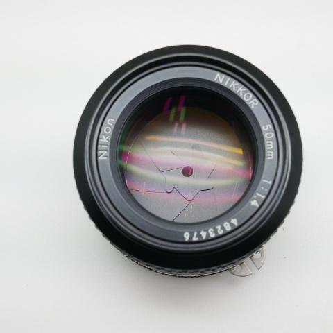 中古品 Nikon EM & Nikon 50mm F1.4