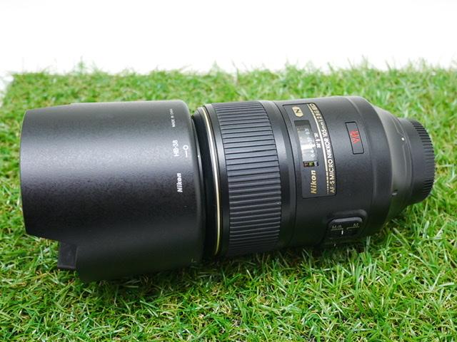 中古品 Nikon AF-S Micro 105mm F2.8G VR ED フィルター付き