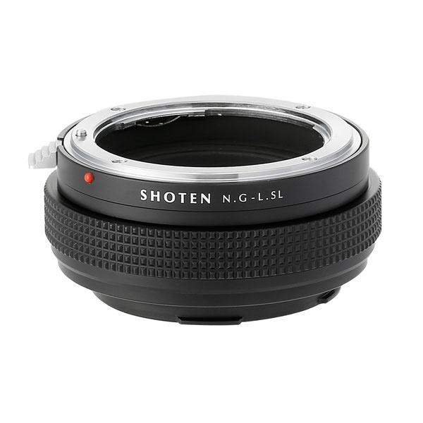 SHOTEN NFG-LSL マウントアダプター (カメラ側:ライカSLL レンズ側:ニコンF(Gタイプ対応))