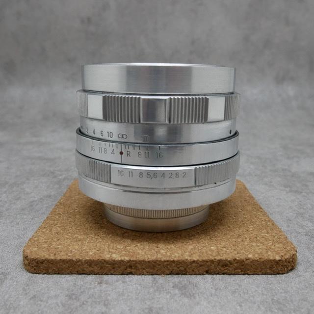 中古品 HELIOS 44M  58mm F2 希少品 シルバー