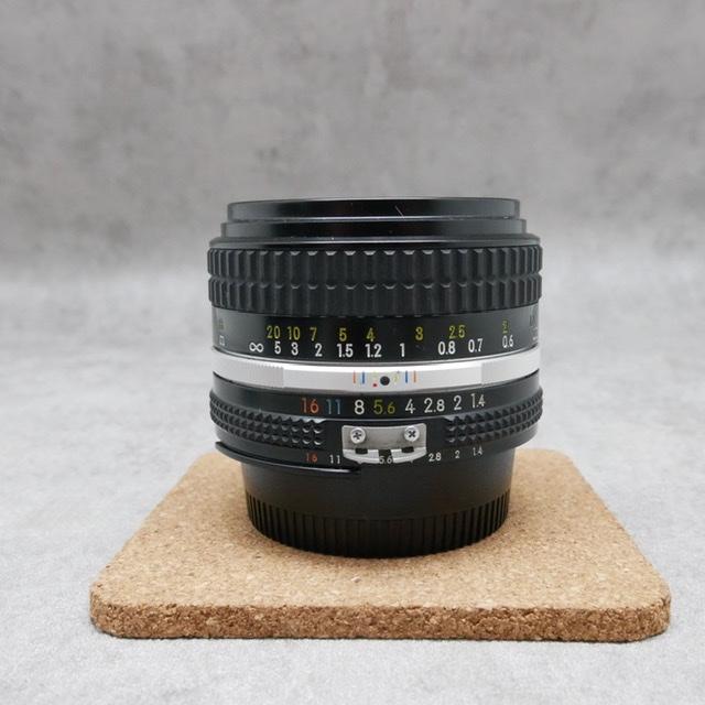 中古品 Nikon Ai-S NIKKOR 50mm F1.4S さんぴん商会